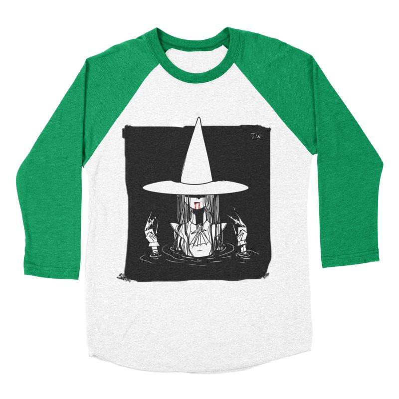 Witch Women's Baseball Triblend T-Shirt by JoniWaffle's Artist Shop
