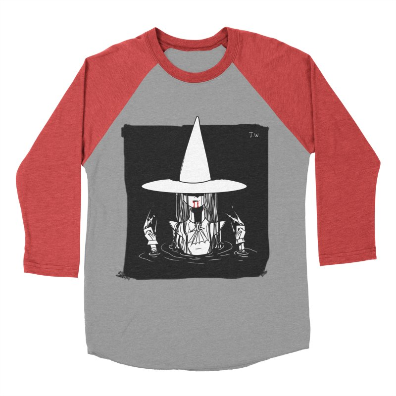 Witch Women's Baseball Triblend T-Shirt by JoniWaffle's Artist Shop