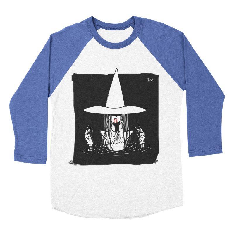 Witch Men's Baseball Triblend T-Shirt by JoniWaffle's Artist Shop