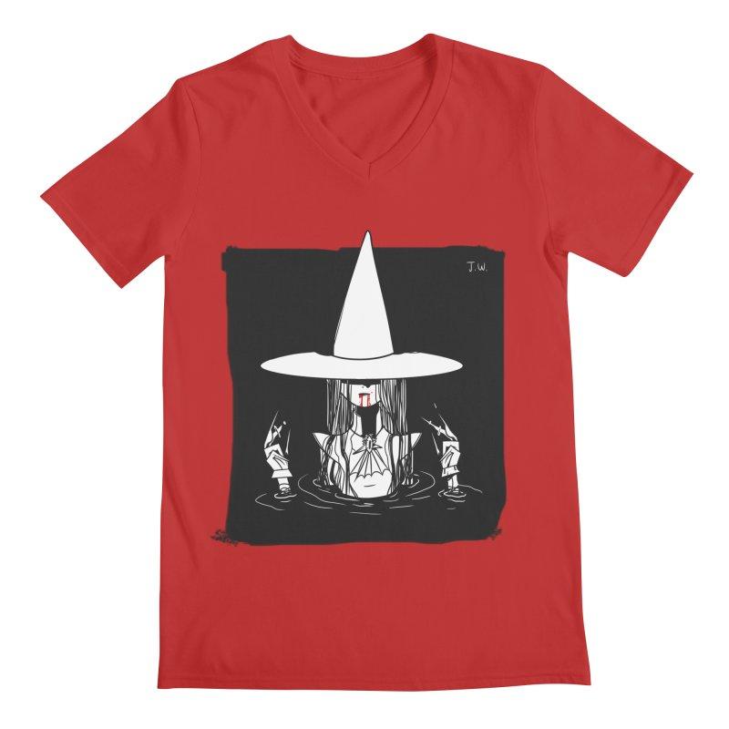 Witch Men's V-Neck by JoniWaffle's Artist Shop