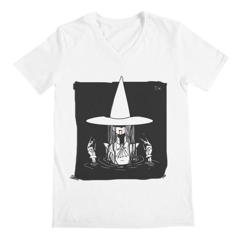 Witch Men's V-Neck by JoniWaffle's Artist Shop