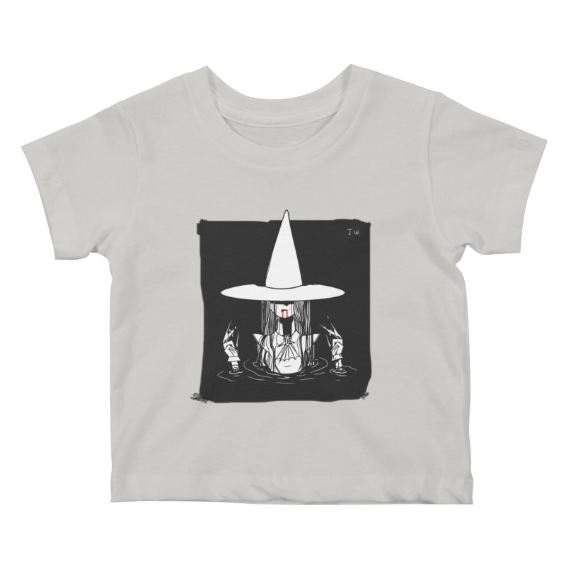 Witch Kids Baby T-Shirt by JoniWaffle's Artist Shop