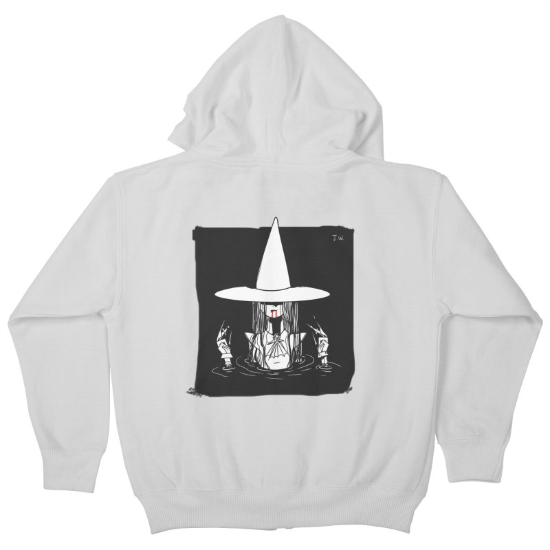 Witch Kids Zip-Up Hoody by JoniWaffle's Artist Shop