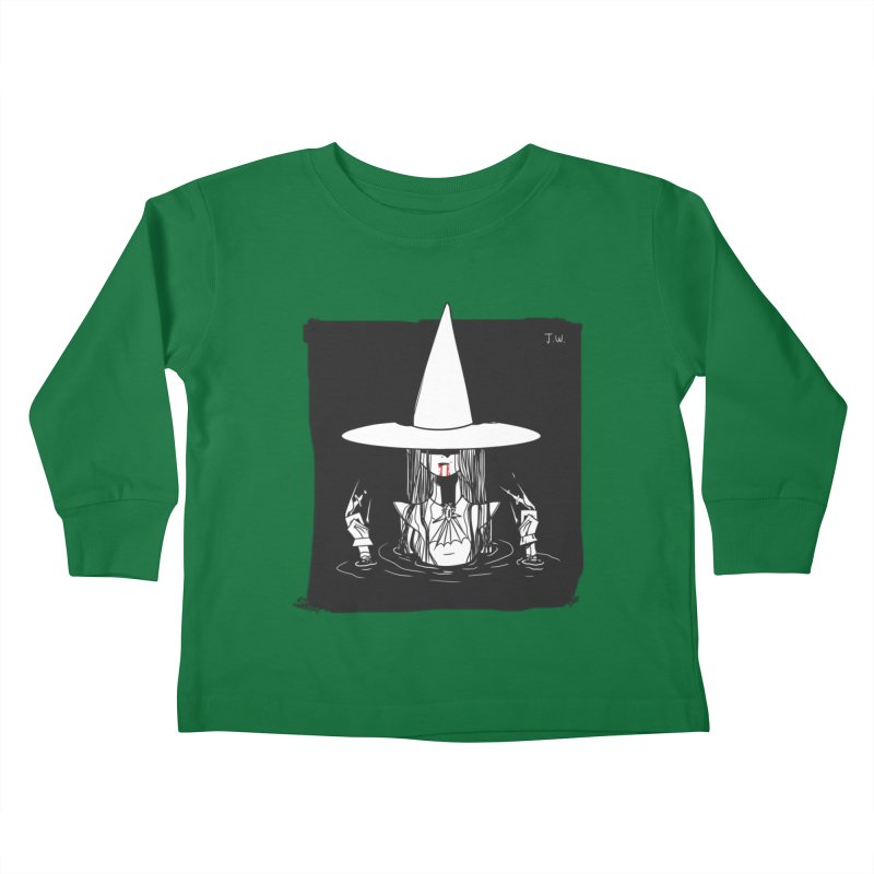 Witch Kids Toddler Longsleeve T-Shirt by JoniWaffle's Artist Shop
