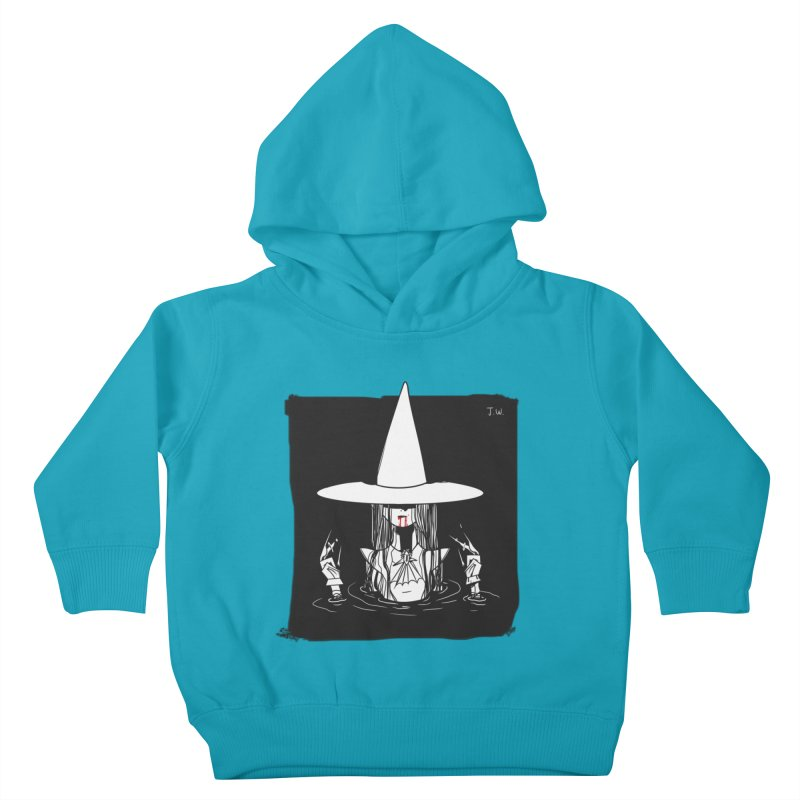Witch Kids Toddler Pullover Hoody by JoniWaffle's Artist Shop