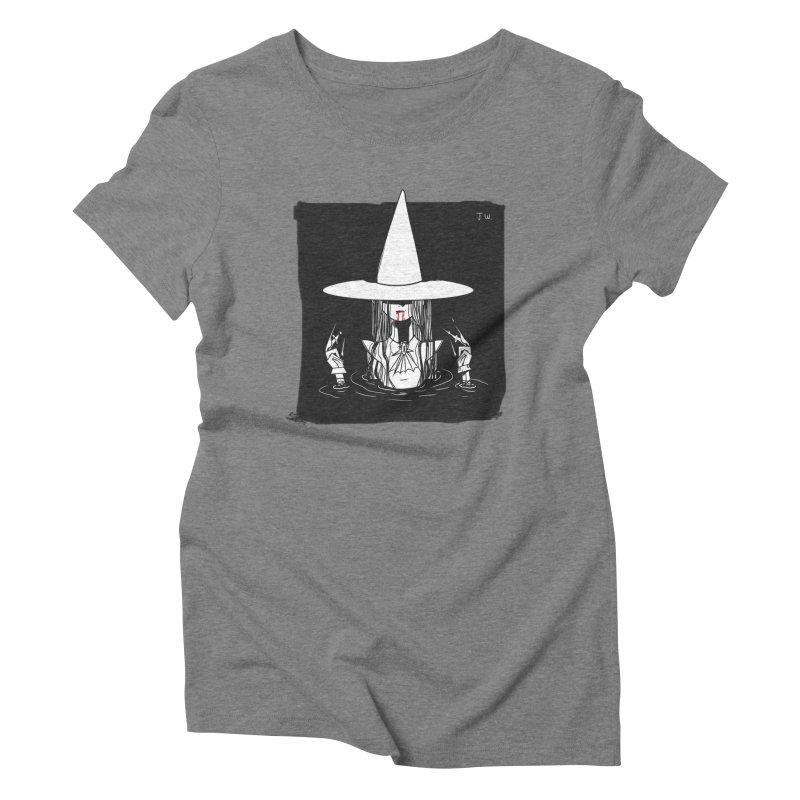 Witch Women's Triblend T-Shirt by JoniWaffle's Artist Shop