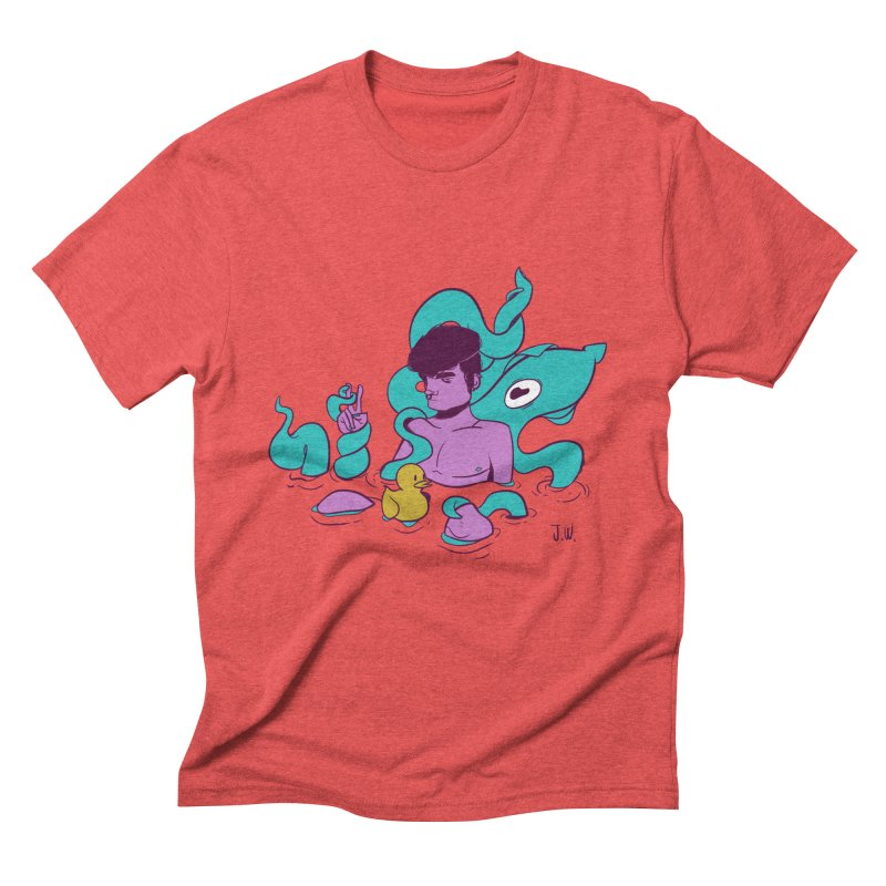 Lost Men's Triblend T-shirt by JoniWaffle's Artist Shop