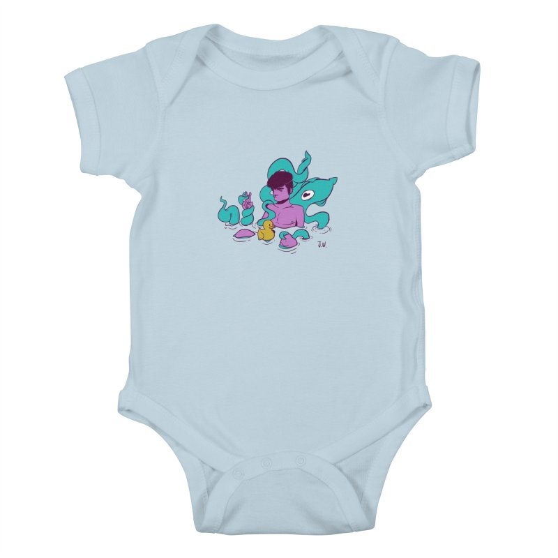 Lost Kids Baby Bodysuit by JoniWaffle's Artist Shop