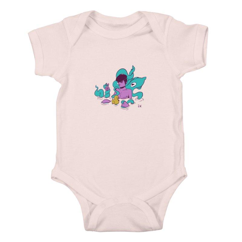 Lost Kids Baby Bodysuit by JoniWaffle's Artist Shop