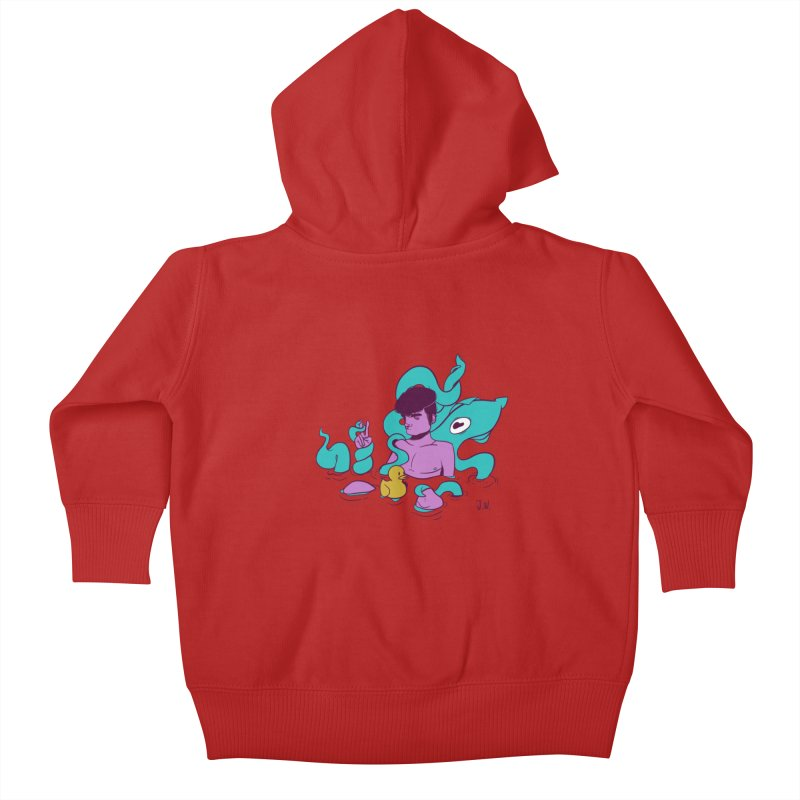 Lost Kids Baby Zip-Up Hoody by JoniWaffle's Artist Shop