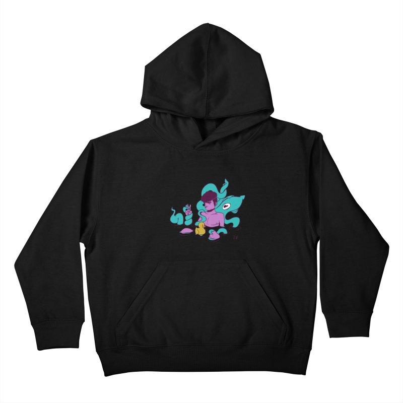 Lost Kids Pullover Hoody by JoniWaffle's Artist Shop