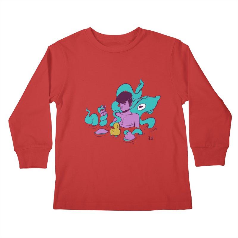 Lost Kids Longsleeve T-Shirt by JoniWaffle's Artist Shop