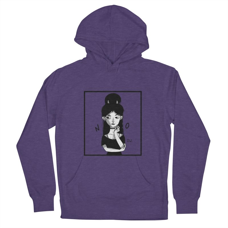 NO Women's Pullover Hoody by JoniWaffle's Artist Shop