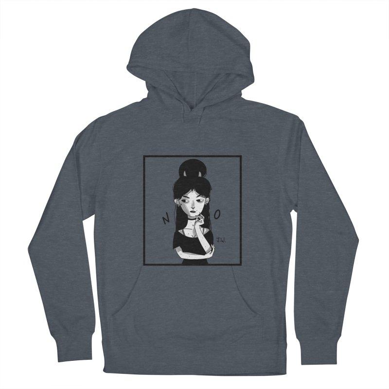 NO Women's Pullover Hoody by JoniWaffle's Artist Shop