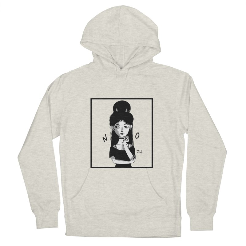 NO Men's Pullover Hoody by JoniWaffle's Artist Shop