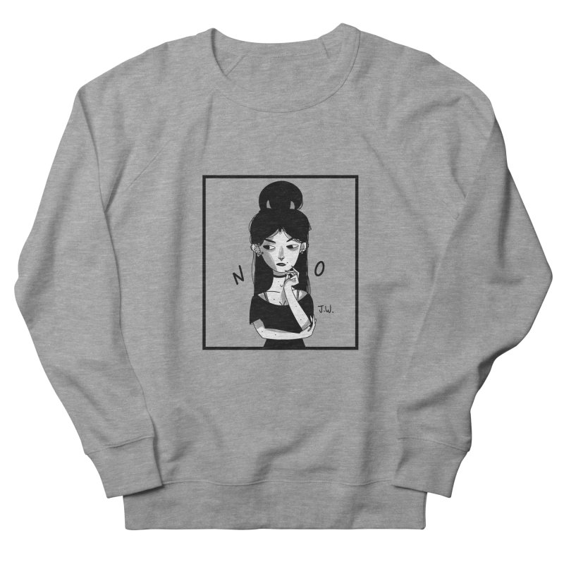 NO Women's Sweatshirt by JoniWaffle's Artist Shop