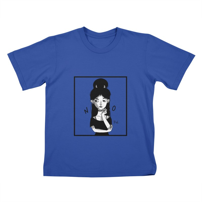 NO Kids T-Shirt by JoniWaffle's Artist Shop