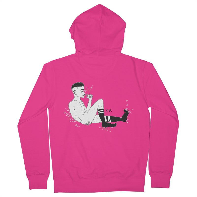 F*CK BOI Men's Zip-Up Hoody by JoniWaffle's Artist Shop