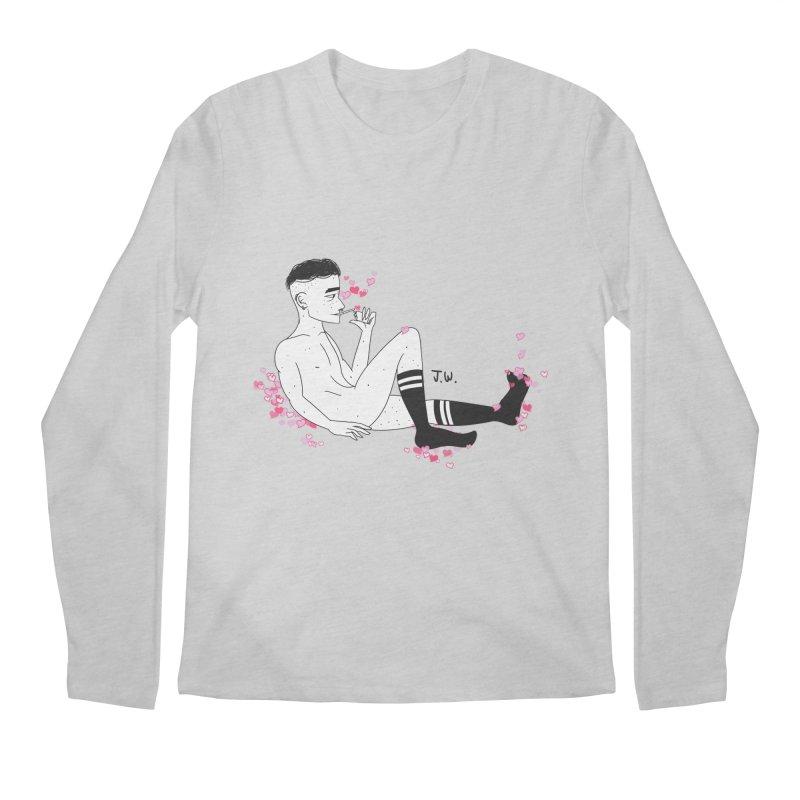 F*CK BOI Men's Longsleeve T-Shirt by JoniWaffle's Artist Shop