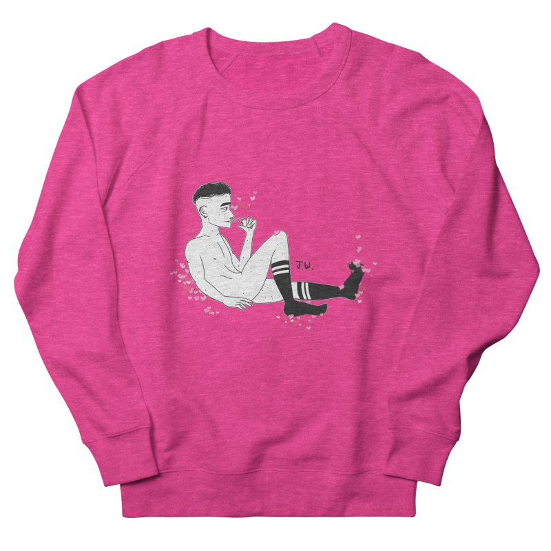 F*CK BOI Men's Sweatshirt by JoniWaffle's Artist Shop
