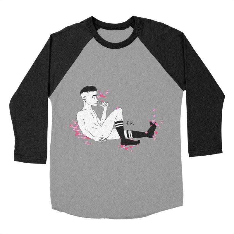 F*CK BOI Women's Baseball Triblend T-Shirt by JoniWaffle's Artist Shop