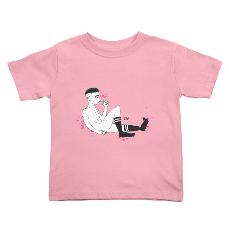 F*CK BOI Kids Toddler T-Shirt by JoniWaffle's Artist Shop