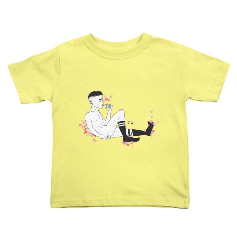 F*CK BOI Kids Toddler T-Shirt by JoniWaffle's Artist Shop