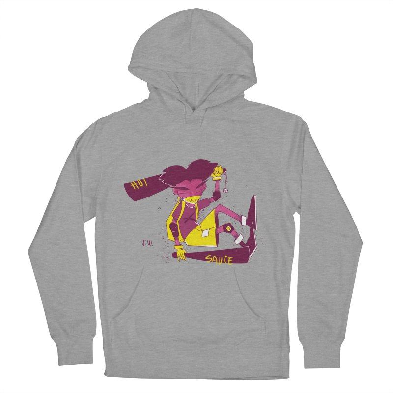 Hot Sauce Women's Pullover Hoody by JoniWaffle's Artist Shop