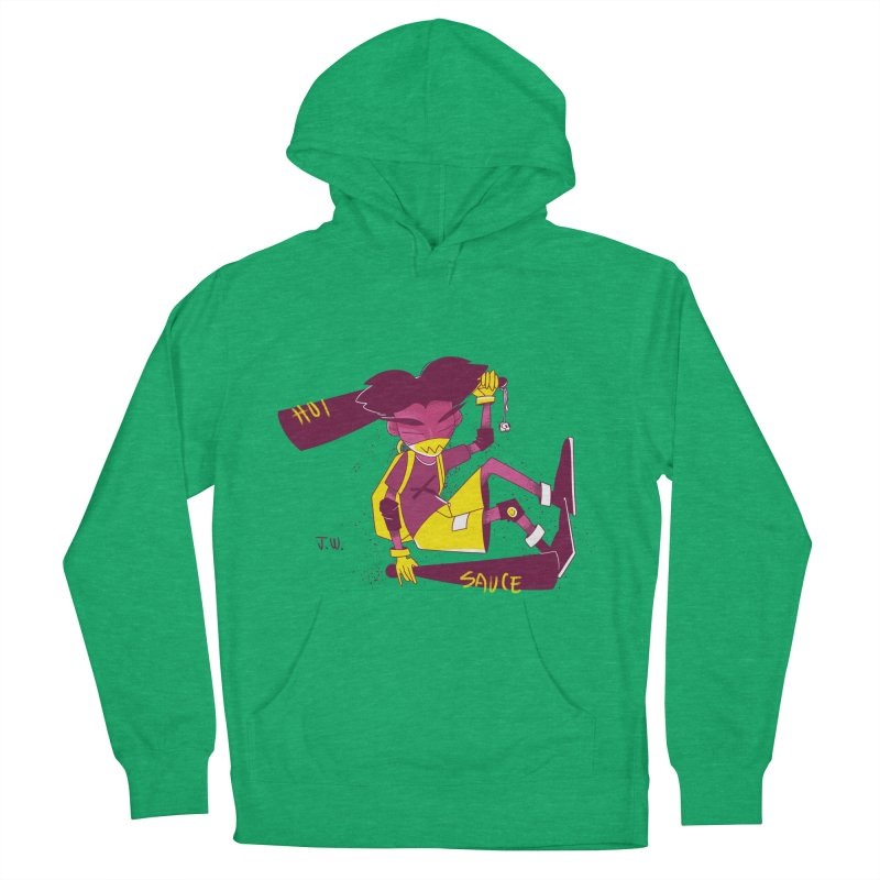 Hot Sauce Men's Pullover Hoody by JoniWaffle's Artist Shop