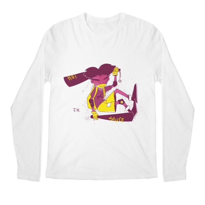 Hot Sauce Men's Longsleeve T-Shirt by JoniWaffle's Artist Shop