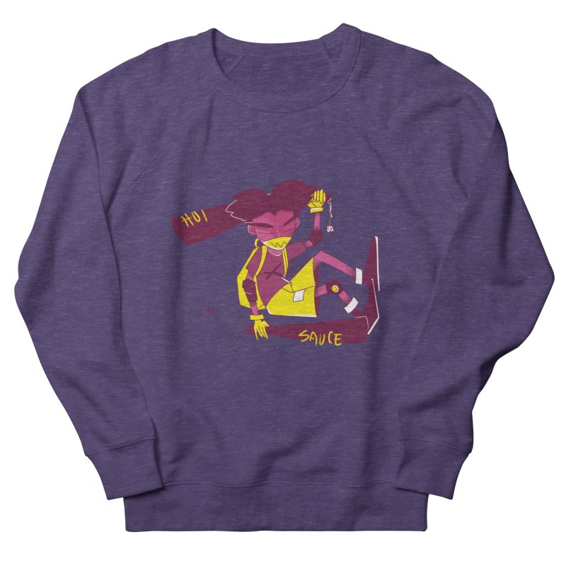 Hot Sauce Men's Sweatshirt by JoniWaffle's Artist Shop