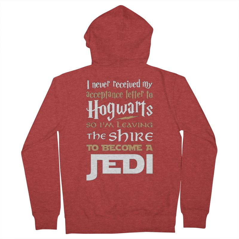 Harry Potter Star Wars Women's French Terry Zip-Up Hoody by Game Of Thrones and others Collection