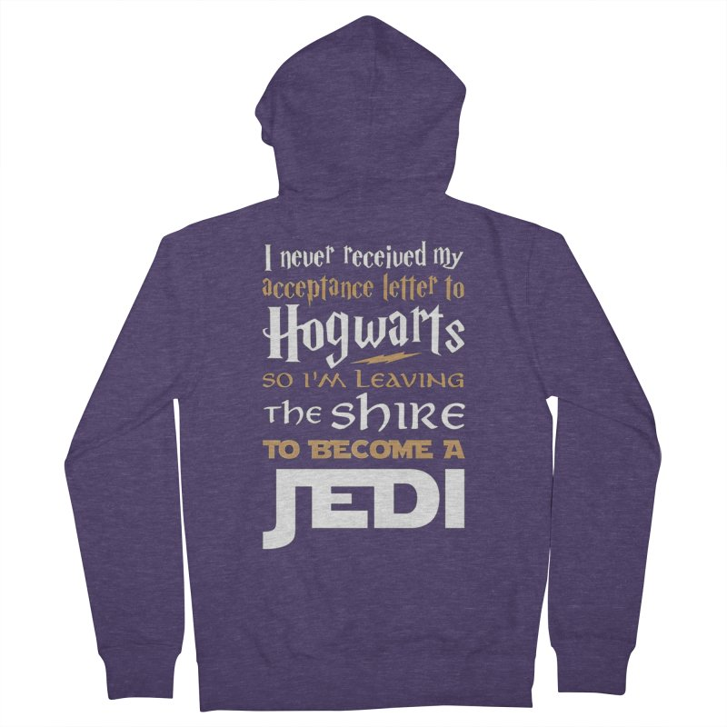 Harry Potter Star Wars Men's French Terry Zip-Up Hoody by Game Of Thrones and others Collection