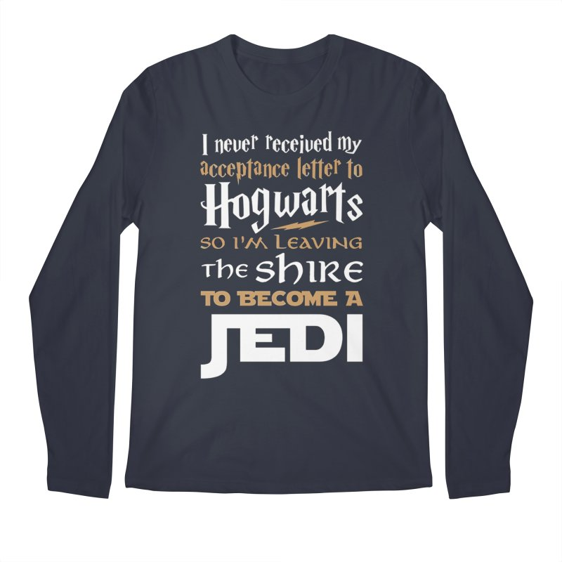 Harry Potter Star Wars Men's Regular Longsleeve T-Shirt by Game Of Thrones and others Collection