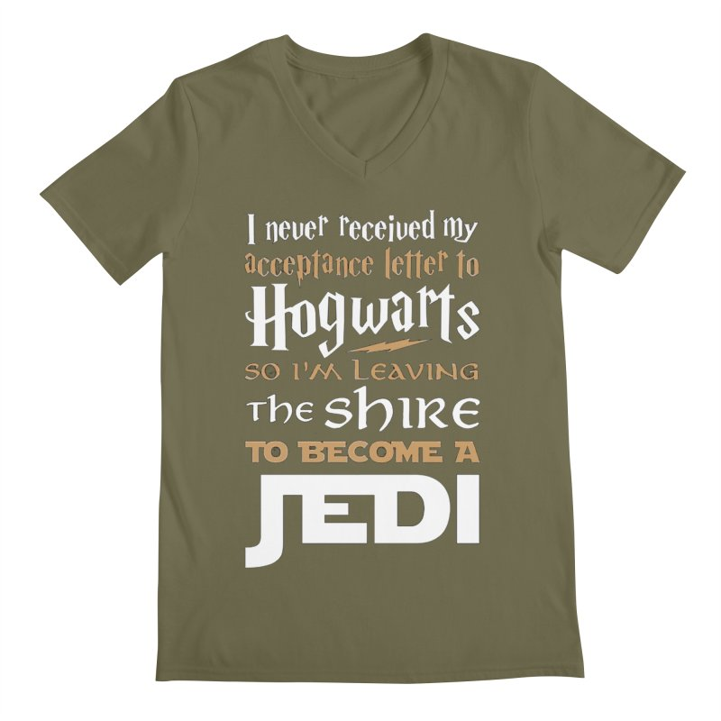 Harry Potter Star Wars Men's V-Neck by Game Of Thrones and others Collection