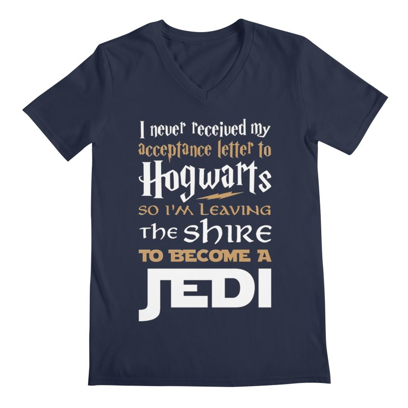 Harry Potter Star Wars Men's Regular V-Neck by Game Of Thrones and others Collection