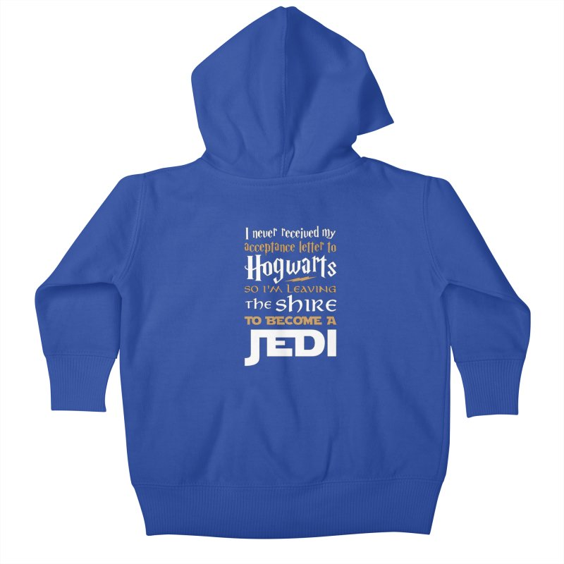 Harry Potter Star Wars Kids Baby Zip-Up Hoody by Game Of Thrones and others Collection