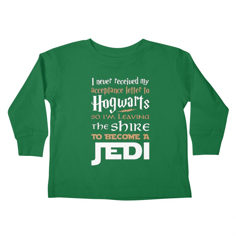 Harry Potter Star Wars Kids Toddler Longsleeve T-Shirt by Game Of Thrones and others Collection