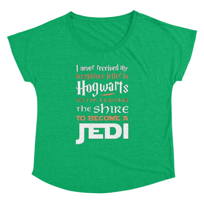Harry Potter Star Wars Women's Dolman by Game Of Thrones and others Collection