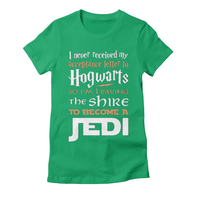 Harry Potter Star Wars Women's Fitted T-Shirt by Game Of Thrones and others Collection
