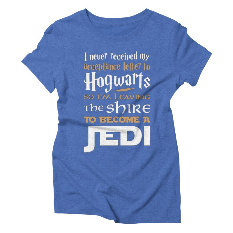 Harry Potter Star Wars Women's Triblend T-Shirt by Game Of Thrones and others Collection