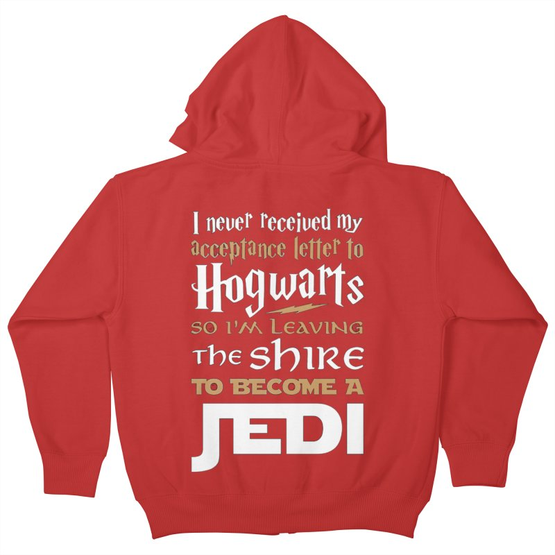 Harry Potter Star Wars Kids Zip-Up Hoody by Game Of Thrones and others Collection