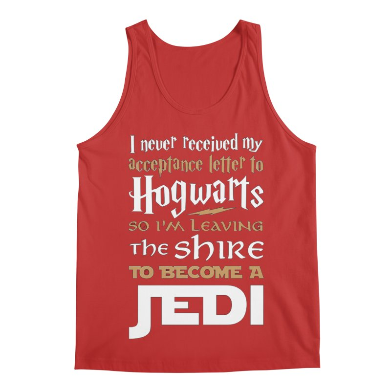 Harry Potter Star Wars Men's Regular Tank by Game Of Thrones and others Collection