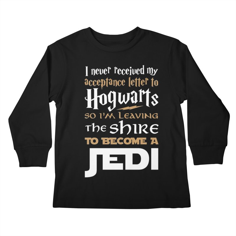 Harry Potter Star Wars Kids Longsleeve T-Shirt by Game Of Thrones and others Collection