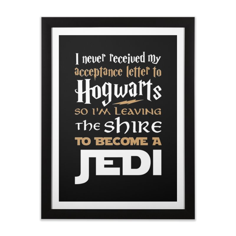 Harry Potter Star Wars Home Framed Fine Art Print by Game Of Thrones and others Collection