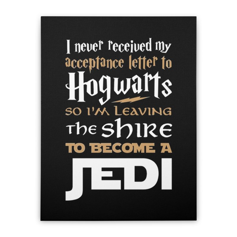 Harry Potter Star Wars Home Stretched Canvas by Game Of Thrones and others Collection
