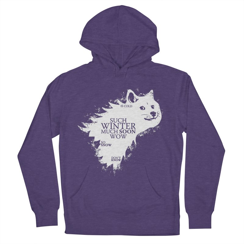 Game of Doge Game of thrones Women's French Terry Pullover Hoody by Game Of Thrones and others Collection