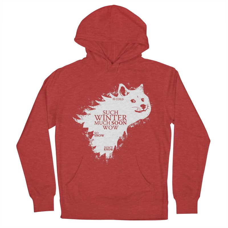 Game of Doge Game of thrones Men's French Terry Pullover Hoody by Game Of Thrones and others Collection