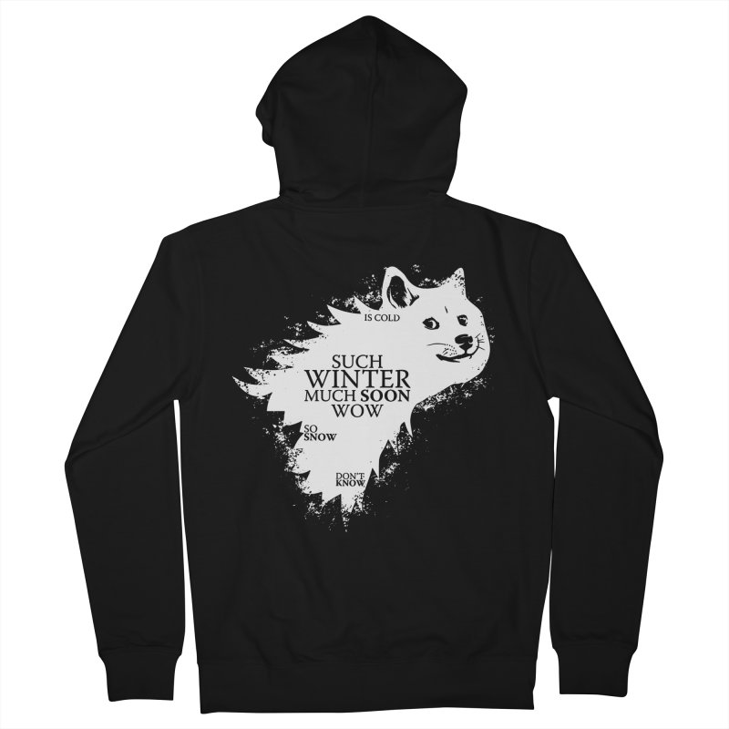 Game of Doge Game of thrones Women's French Terry Zip-Up Hoody by Game Of Thrones and others Collection