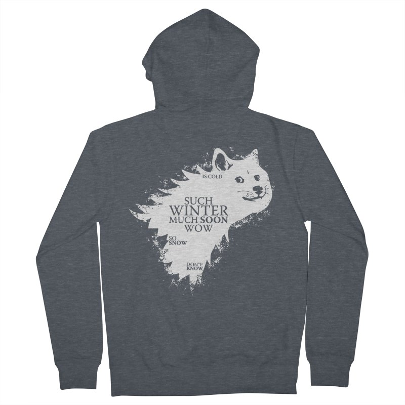 Game of Doge Game of thrones Men's Zip-Up Hoody by Game Of Thrones and others Collection